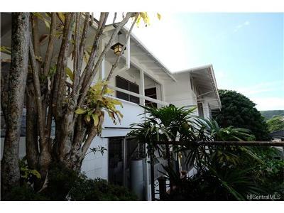 Honolulu HI Single Family Home For Sale: $1,199,000