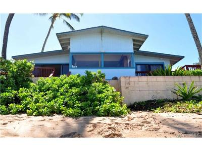 Haleiwa Single Family Home For Sale: 66-485 A&b Pikai Street