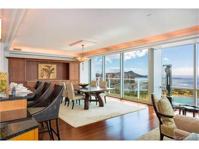 Honolulu County, Hawaii County Condo/Townhouse For Sale: 1288 Ala Moana Boulevard #36J