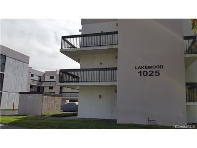 Honolulu Condo/Townhouse For Sale: 1025 Ala Lilikoi Street #E308
