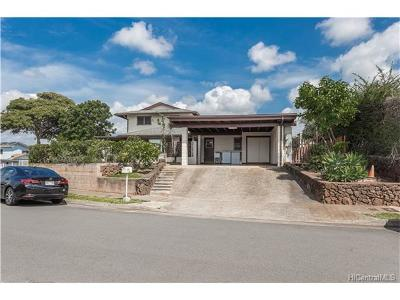 Aiea Single Family Home In Escrow Showing: 98-356 Puaalii Street