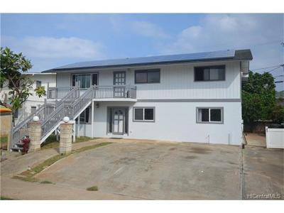 Laie Single Family Home For Sale: 55-164 Kulanui Street