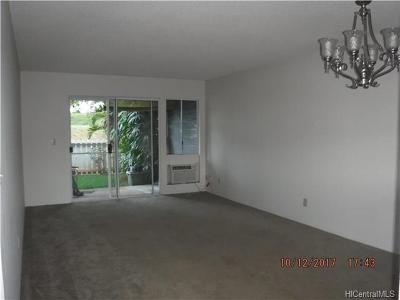 Waipahu Condo/Townhouse In Escrow Showing: 94-820 Lumiauau Street #G102