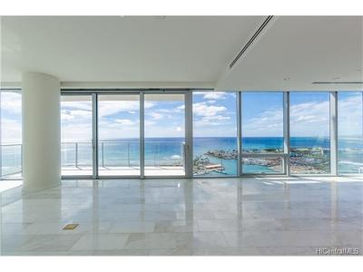 Hawaii County, Honolulu County Condo/Townhouse For Sale: 1118 Ala Moana Boulevard #2800