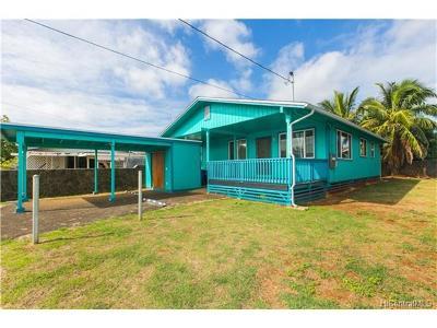 Kahuku Single Family Home In Escrow Showing: 56-339 Olauniu Place