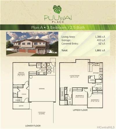 Waipahu Single Family Home For Sale: 94-470 Paiwa Street #16
