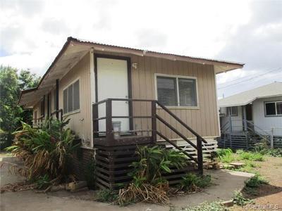Waianae Single Family Home For Sale: 86-743 Puuhulu Road