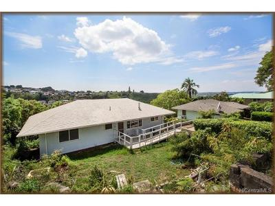 Aiea Single Family Home For Sale: 99-655 Aiea Heights Drive