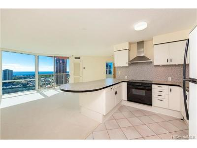Hawaii County, Honolulu County Condo/Townhouse For Sale: 801 S King Street #2904