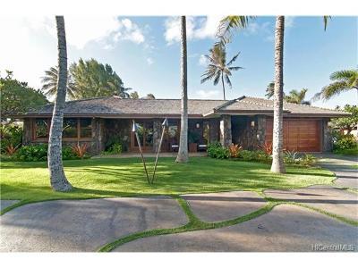 Kailua HI Single Family Home For Sale: $2,497,000