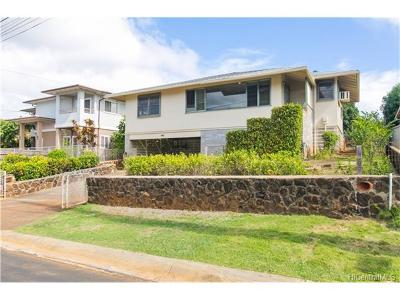 Pearl City Single Family Home In Escrow Showing: 1182 Hookahi Street