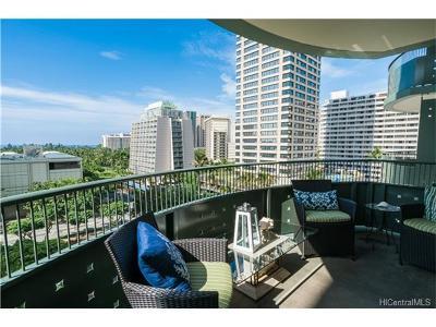 Hawaii County, Honolulu County Condo/Townhouse For Sale: 421 Olohana Street #702