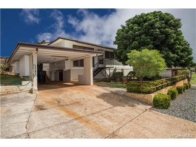 Pearl City Single Family Home For Sale: 947 Puu Kula Drive