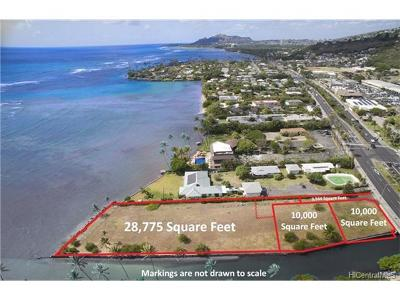 Honolulu Residential Lots & Land For Sale: 5295 Kalanianaole Highway #3
