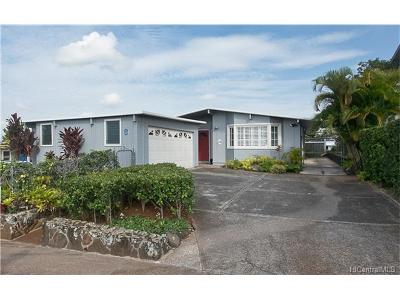 Pearl City Single Family Home In Escrow Showing: 1786 Hookupa Street