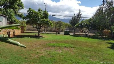 Waialua Single Family Home In Escrow Showing: 68-126 Akule Street