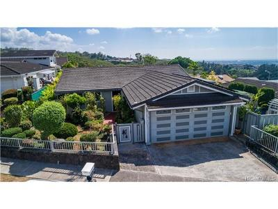 Aiea Single Family Home For Sale: 98-2011 Hapaki Street