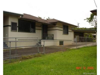 Wahiawa Single Family Home For Sale: 2050b California Avenue