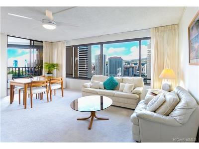 Honolulu Condo/Townhouse For Sale: 1778 Ala Moana Boulevard #3004