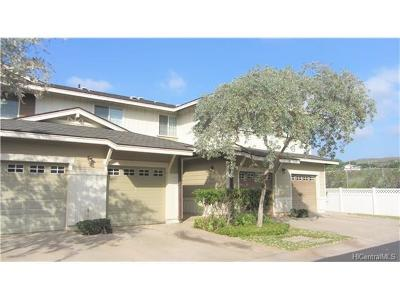kapolei Condo/Townhouse For Sale: 92-1512 Aliinui Drive #7