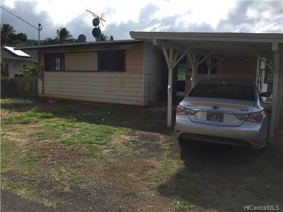 Aiea Single Family Home For Sale: 99-615 Kaulainahee Place