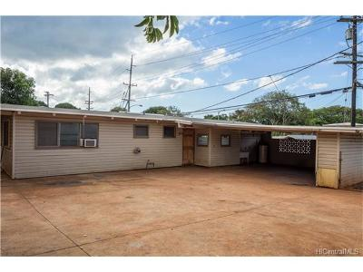 Pearl City Single Family Home For Sale: 1503 Hoolana Street