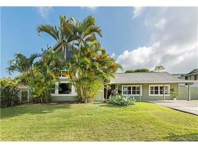 Kaneohe Single Family Home In Escrow Showing: 46-010 Nana Place