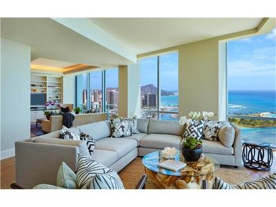 Honolulu Rental For Rent: 1288 Ala Moana Boulevard #PH-B