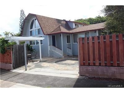 Hauula Single Family Home For Sale: 54-228 Honomu Street