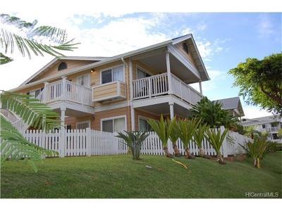 Waipahu Condo/Townhouse For Sale: 94-510 Lumiaina Street #T-204