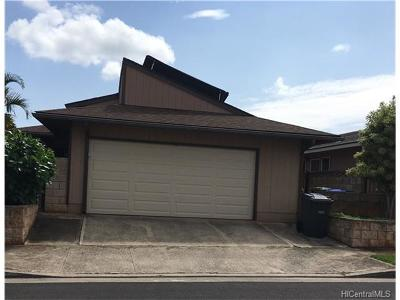 Waipahu Single Family Home For Sale: 94-475 Alapine Street