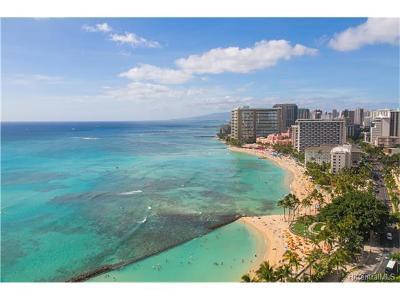 Hawaii County, Honolulu County Condo/Townhouse For Sale: 2500 Kalakaua Avenue #2501