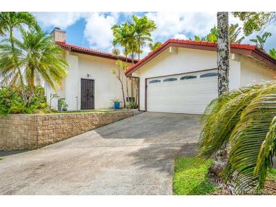 Kaneohe Single Family Home In Escrow Showing: 45-732 Puupele Street