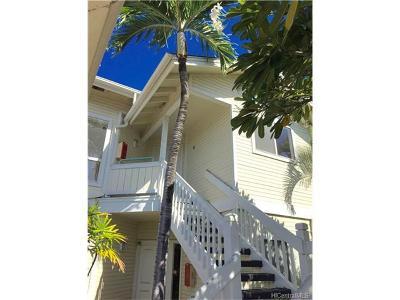 Ewa Beach Condo/Townhouse In Escrow Showing: 91-941 Laaulu Street #43B
