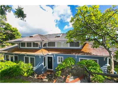 Honolulu Single Family Home For Sale: 2231 Mohala Way