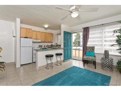 Honolulu HI Condo/Townhouse For Sale: $295,000