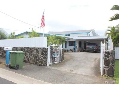 Kaneohe Single Family Home For Sale: 45-526 Nakuluai Street