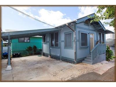 Honolulu Single Family Home For Sale: 1122 2nd Avenue #B