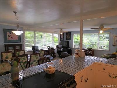 Kaneohe Single Family Home In Escrow Showing: 802 Kamakoi Place