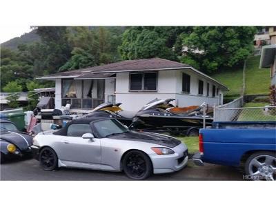 Honolulu Single Family Home For Sale: 3058 Uaawa Place