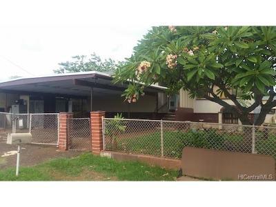 Waipahu Single Family Home For Sale: 94-345 Paiwa Street