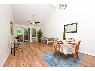 Pearl City Condo/Townhouse In Escrow Showing: 98-852 Noelani Street #55