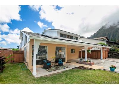 Kaneohe Single Family Home In Escrow Showing: 47-603 Hui Ulili Street