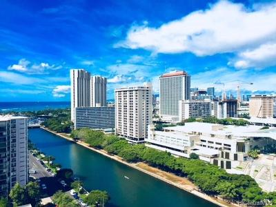 Hawaii County, Honolulu County Condo/Townhouse For Sale: 1717 Ala Wai Boulevard #2003