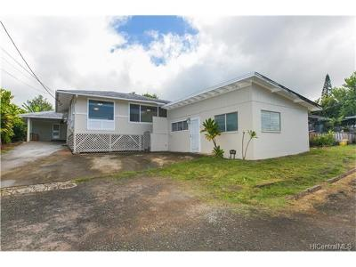 Wahiawa Single Family Home For Sale: 300c Karsten Drive