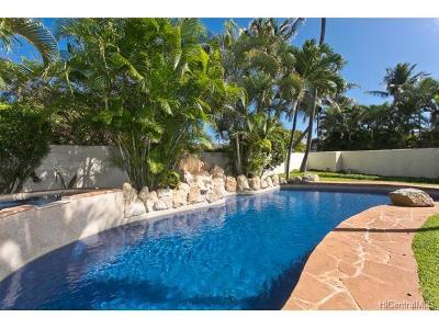 Single Family Home For Sale: 611 Launa Aloha Place