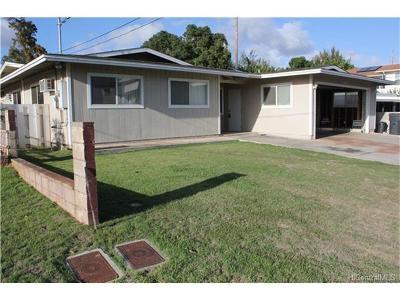 Ewa Beach Single Family Home For Sale: 91-1041 Hanakahi Street