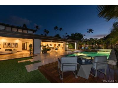 Honolulu HI Single Family Home For Sale: $8,000,000