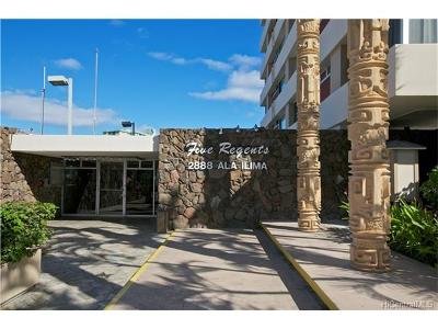 Honolulu Condo/Townhouse For Sale: 2888 Ala Ilima Street #2811