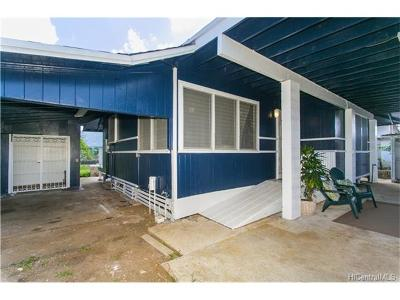Single Family Home In Escrow Showing: 45-118 Waikalua Road